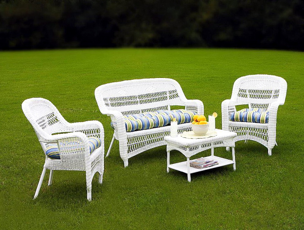 White Patio Furniture Sets