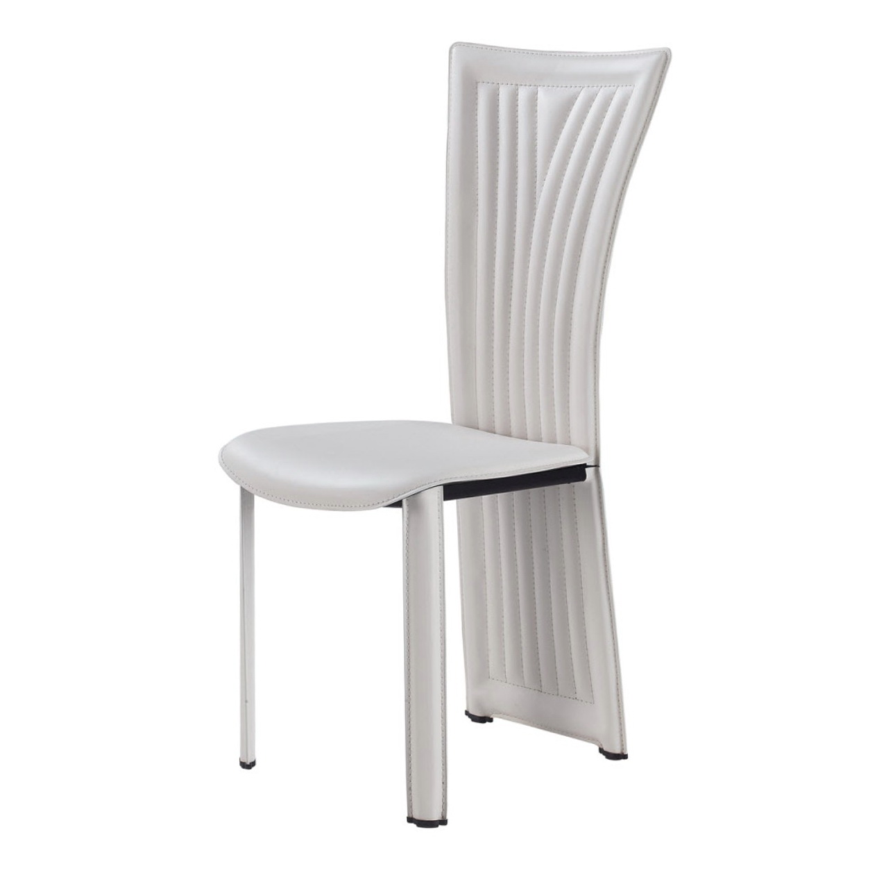 White Upholstered Dining Chairs