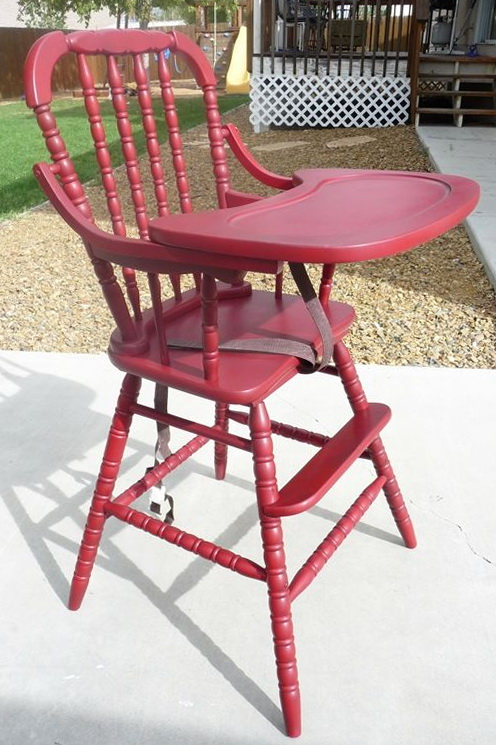 Wooden High Chair Jenny Lind