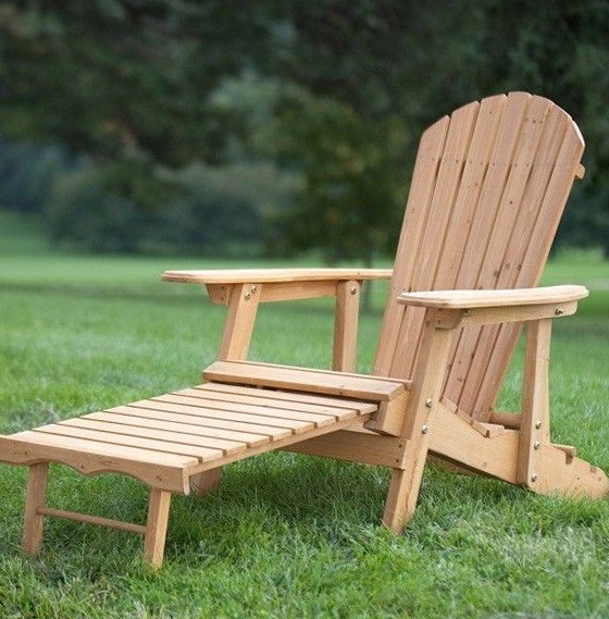Wooden Patio Lounge Chairs