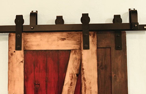Barn Door Hardware Double Track