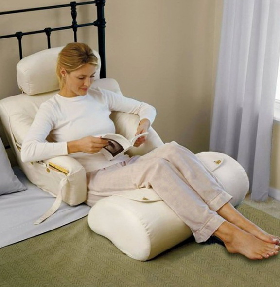 Bed Rest Pillows With Arms