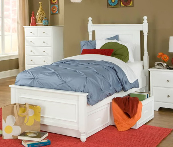 Bed With Drawers Underneath Full