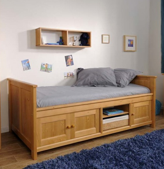 Bed With Storage Design Ideas