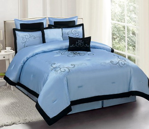 Bedding Sets Queen Blue