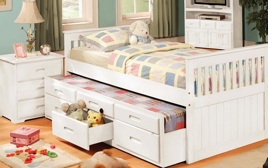 Beds With Drawers For Girls