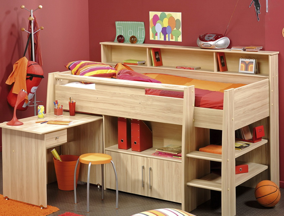 Beds With Storage And Desk