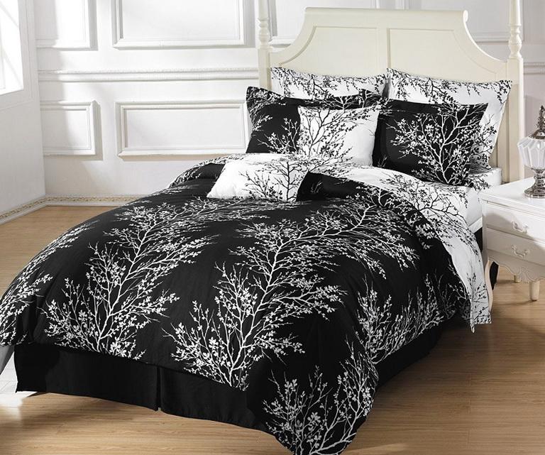 Black And White Bedding Full