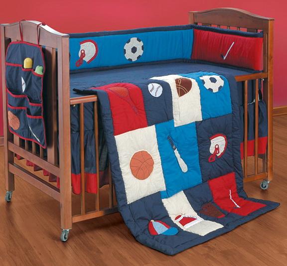 Boy Nursery Bedding Sports
