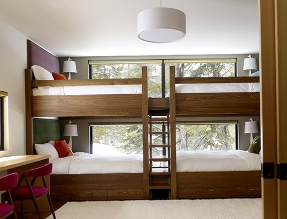 Built In Bunk Beds For Adults
