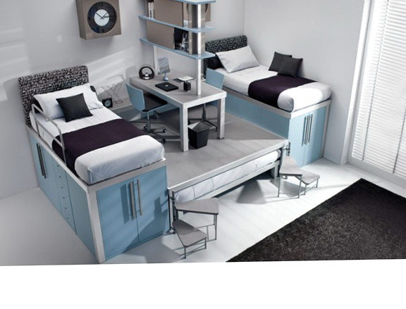 Bunk Bed With Desk On Top