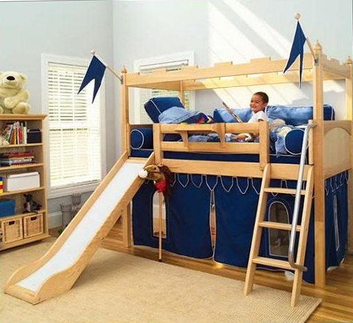 Bunk Beds For Kids With Slide