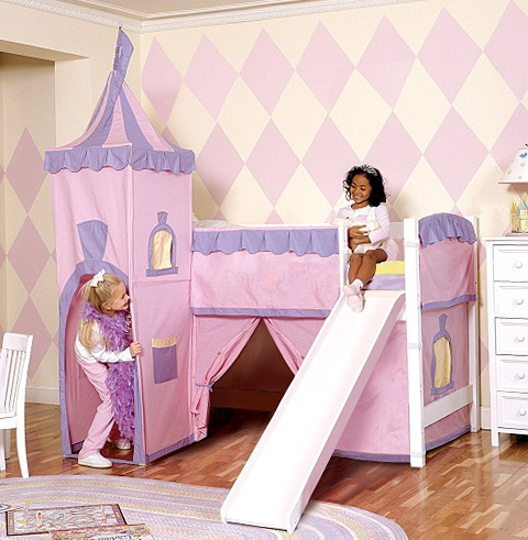 Bunk Beds With Slide For Teenage Girls