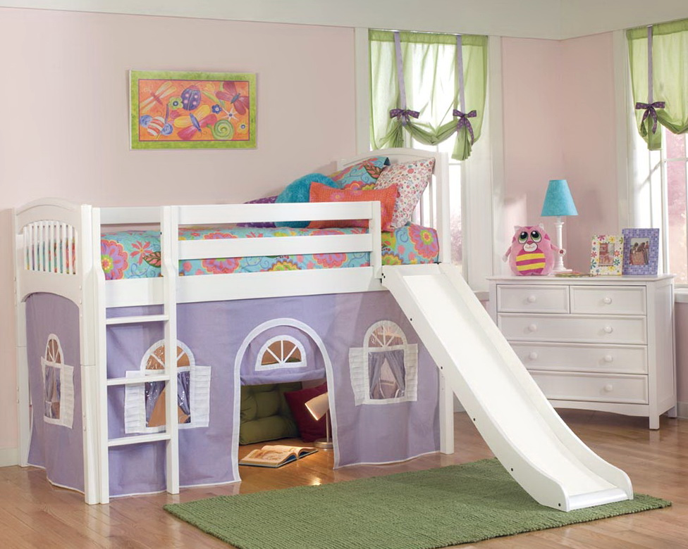 Bunk Beds With Slide Out Bed