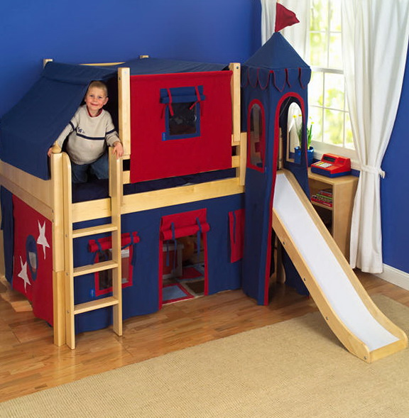 Bunk Beds With Slides Cheap