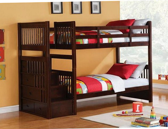 Bunk Beds With Stairs Costco
