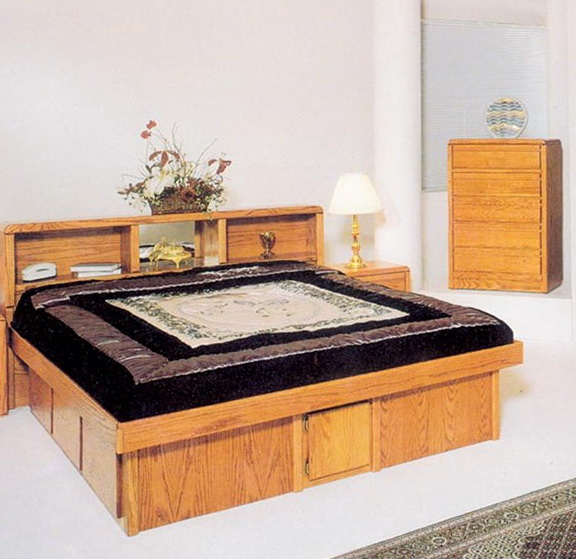 California King Platform Bed Frame