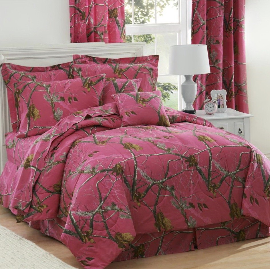 Camo Bed Sets For Girls