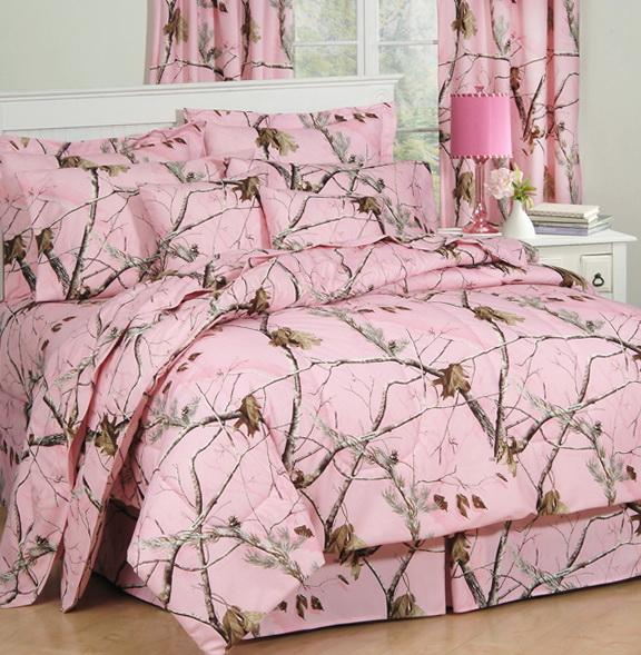 Camo Crib Bedding For Girl