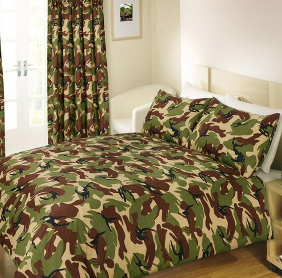 Camo Crib Bedding Sets For Boys