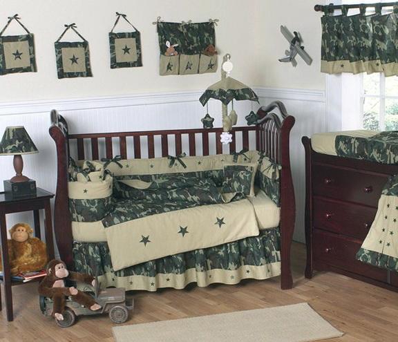 Camo Crib Bedding Sets