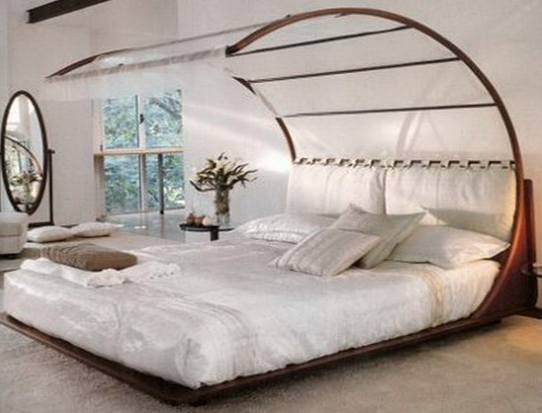 Canopy Bed Frame Full Size