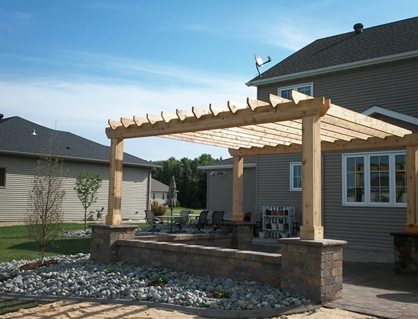 Cedar Patio Cover Kits