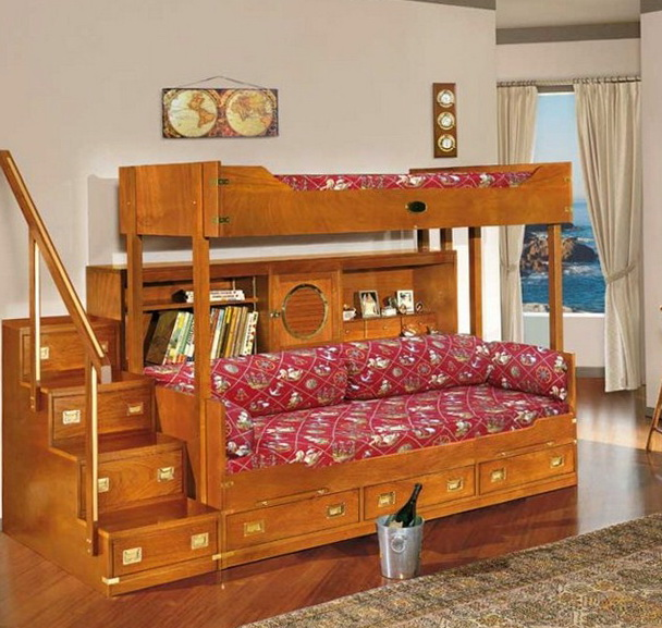 Cheap Loft Beds With Desk For Kids