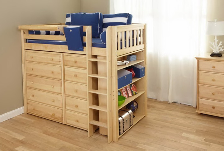 Cheap Loft Beds With Storage