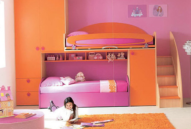 Cool Loft Beds For Girls