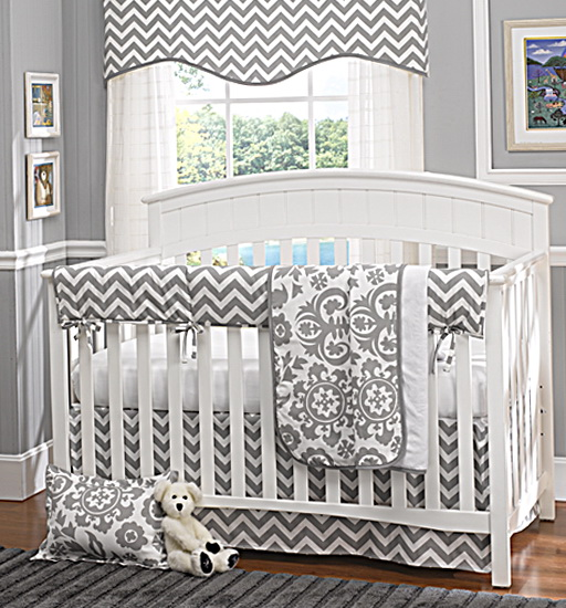 Crib Bedding Sets Chevron