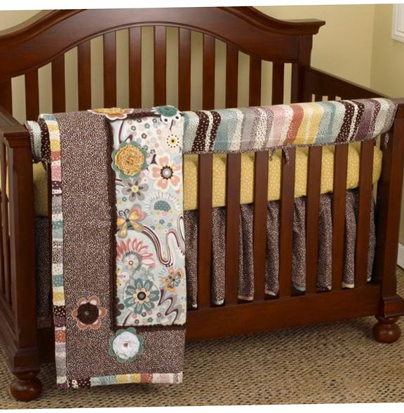 Crib Bedding Sets With Rail Covers