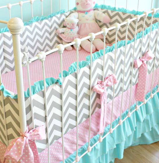 Custom Crib Bedding Etsy