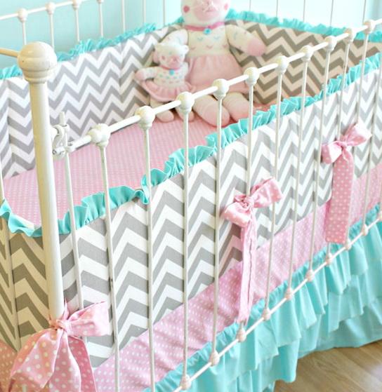 Custom Crib Bedding Etsy