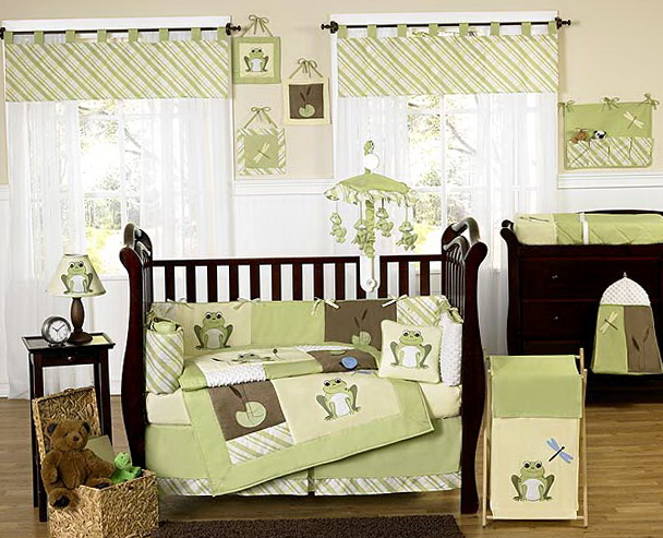 Cute Neutral Baby Bedding