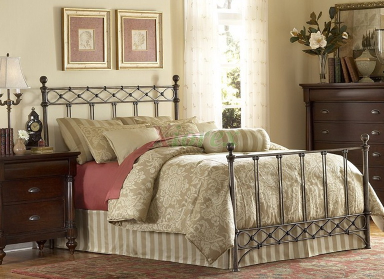 Decorative Metal Bed Frame Queen