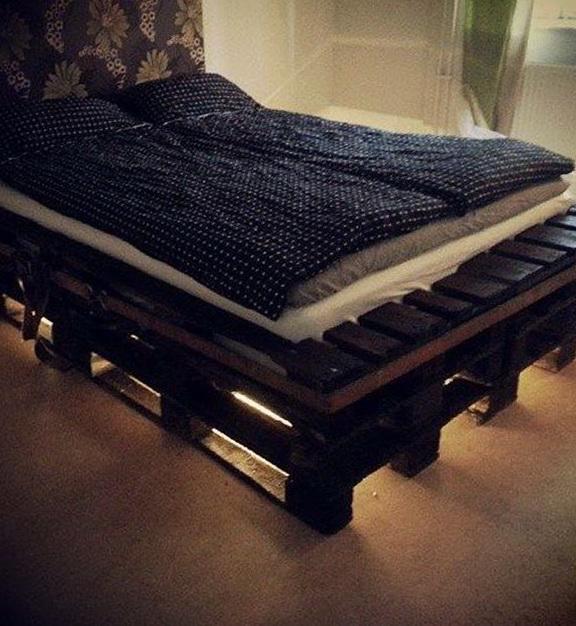 Diy Bed Frame Pallet