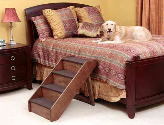 Diy Dog Stairs For Bed
