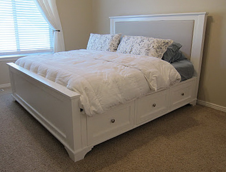 Diy King Size Platform Bed