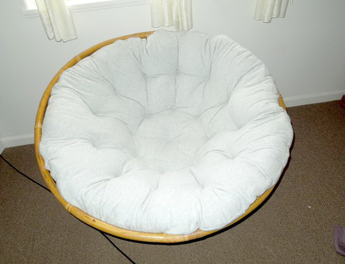 Diy Papasan Chair Cushion