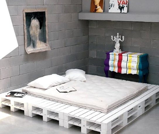 Diy Platform Bed Pallets
