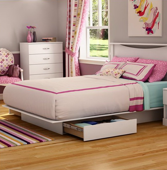 Diy Platform Bed With Storage Plans