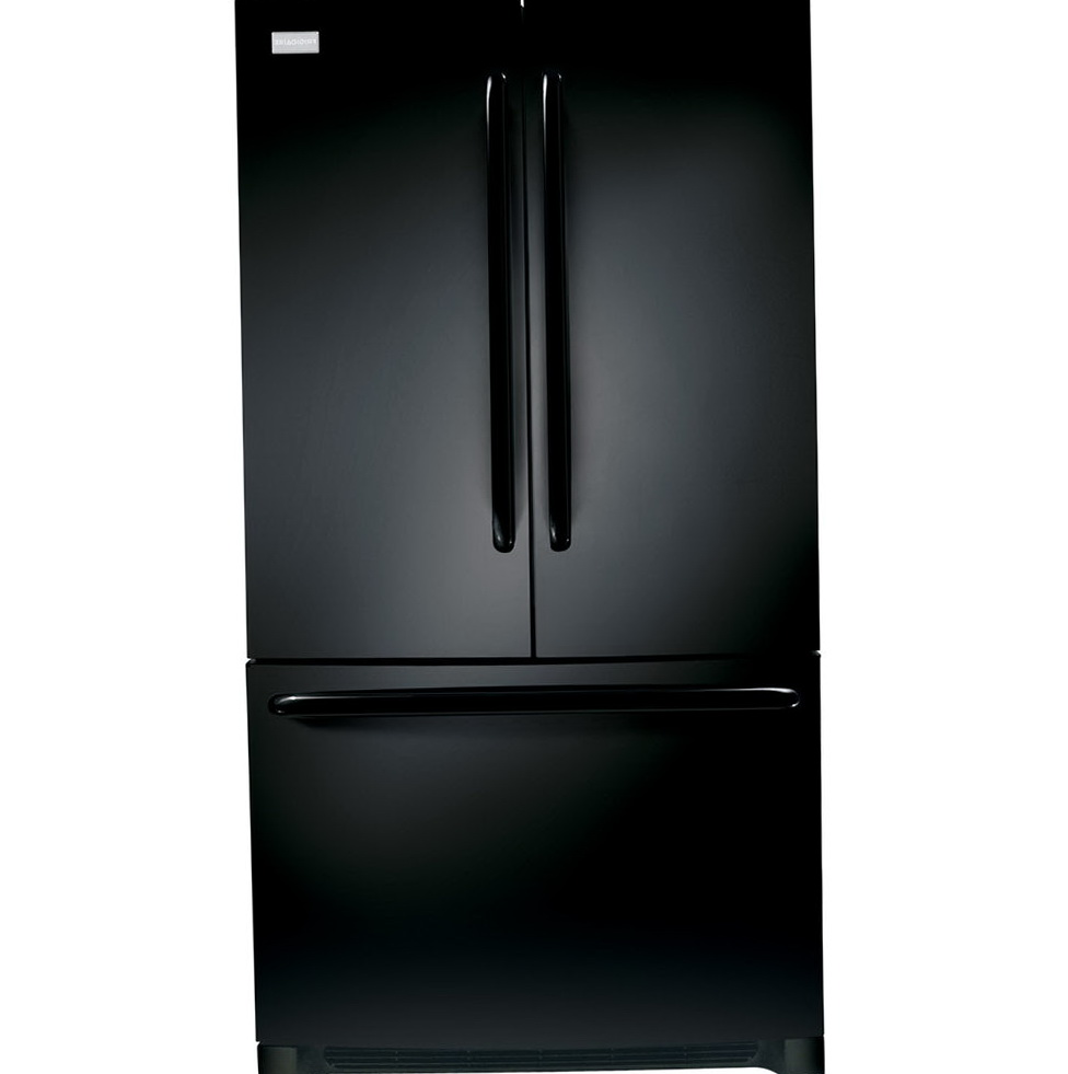 French Door Refrigerator Black