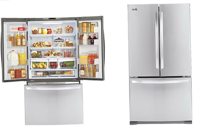 French Door Refrigerator Organization