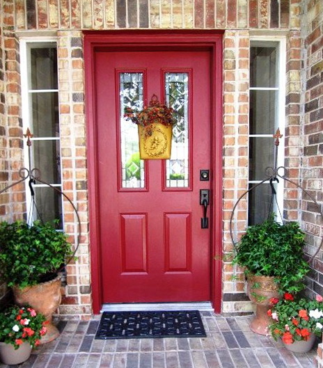 Front Door Colors For Red Brick Houses