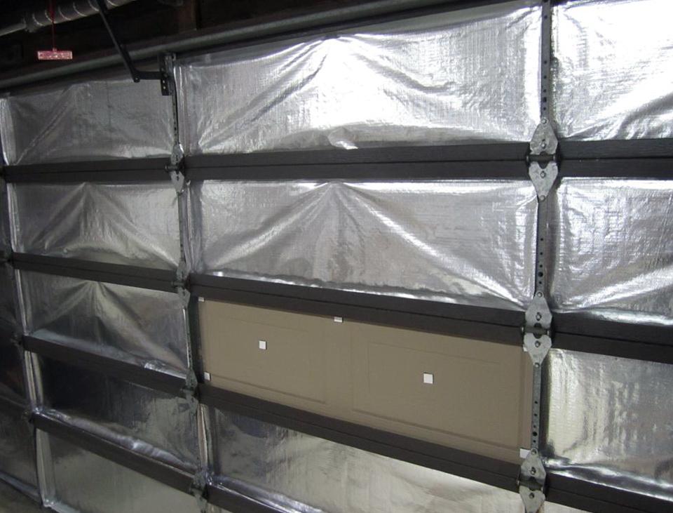 Garage Door Insulation Panels