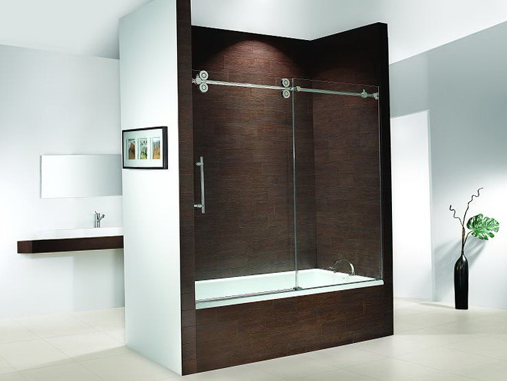 Glass Shower Doors For Bathtub