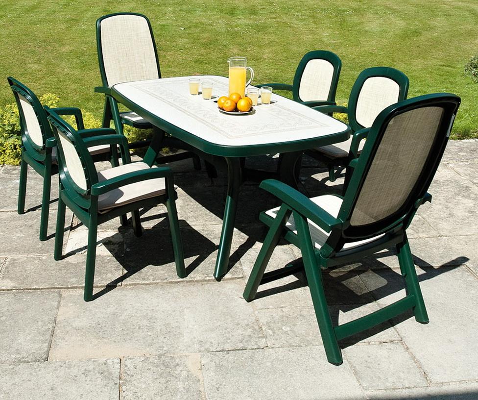 Green Plastic Patio Chairs