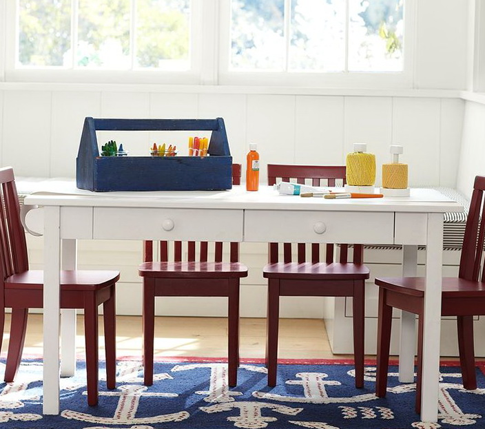 Kids Table And Chair Set Pottery Barn