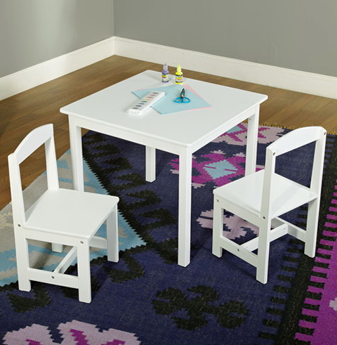 Kids Table And Chair Set Walmart